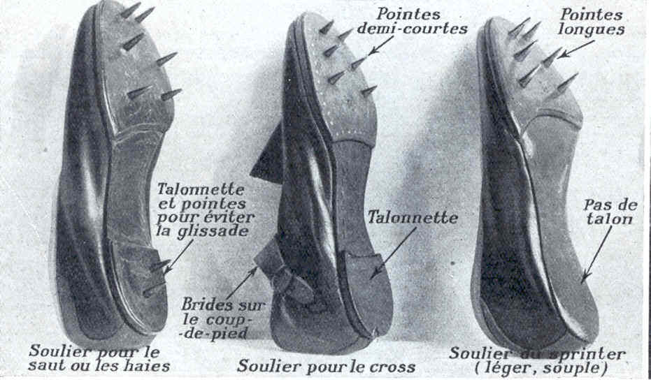Chaussures Athlétisme Pointes